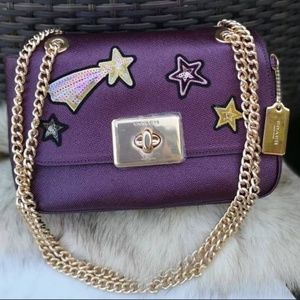 Coach Cassidy Star Patches shoulder bag